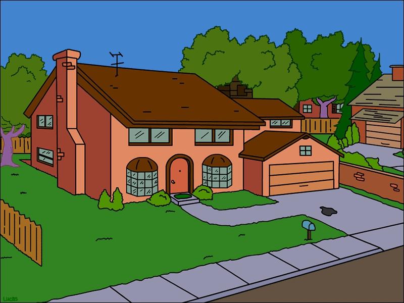 Quel est le numéro de la rue des Simpson ?