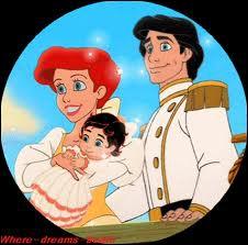 A la fin du film , Ariel devient définitivement humaine et épouse le prince. Comment vont-ils appeler leur fille qui apparaîtra dans   La petite sirène 2   ?