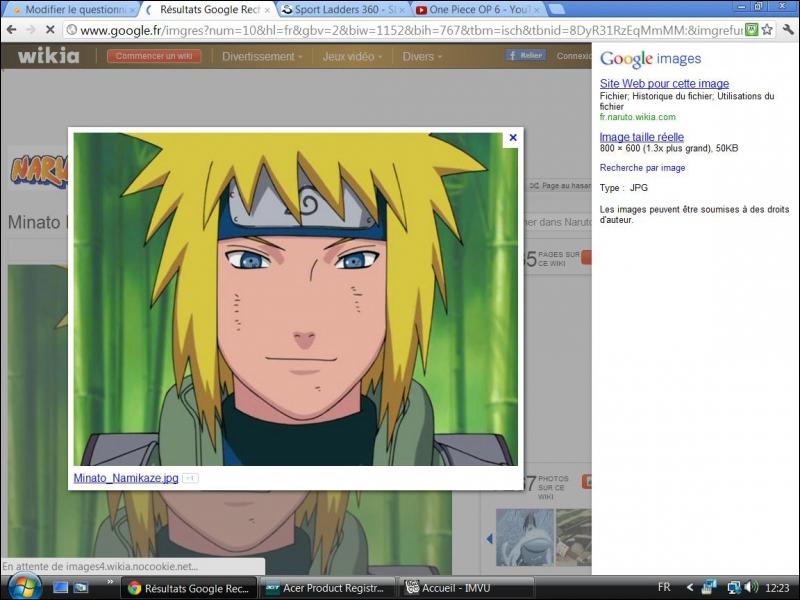 Comment s'appelle le père de Naruto ?