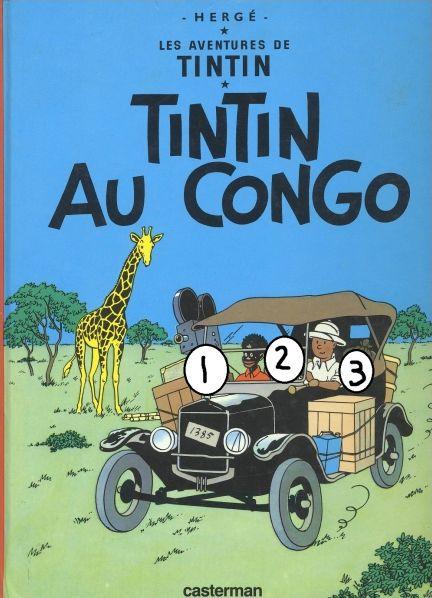 Tintin et Milou : couvertures d'albums