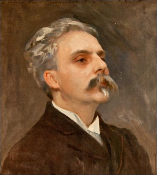 Compositeur français (1845-1924), élève de Saint-Saens, organiste à l'église de la Madeleine à Paris, il est célèbre pour sa Pavane, Masques et Bergamasques et son magnifique Requiem.