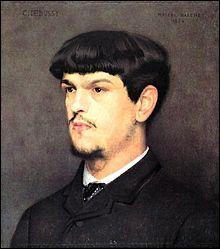 Compositeur français de  musique impressionniste , auteur de La mer et de l'opéra Pelléas et Mélisande, il fut le précurseur de la musique moderne.