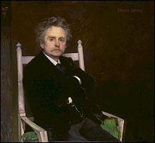 Compositeur norvégien (1843-1907) de la période romantique, il composa Peer Gynt, musique pour le drame d'Henrik Ibsen .