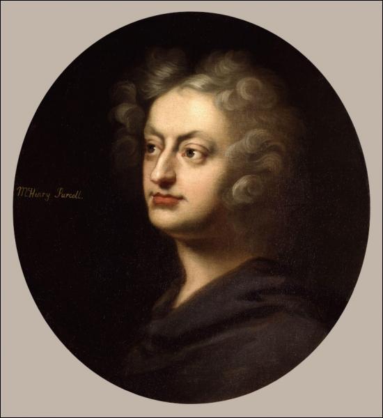Le plus grand compositeur anglais (1659-1695), auteur de musique baroque, il a notamment composé Didon et Énée, King Arthur, The Fairy Queen...