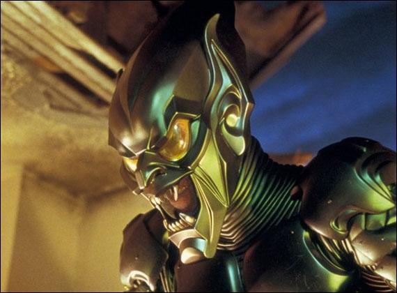 Qui devient bouffon vert dans ce film de 2002 ?