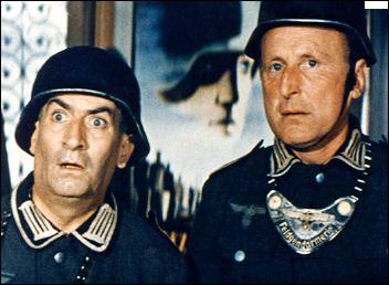 Ils se costument en soldats allemands dans La Grande Vadrouille. De qui s'agit-il ?