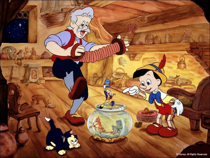 Dans Pinocchio, quel animal est Grand Coquin ?