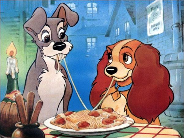 Dans la Belle et le Clochard, comment s'appelle le restaurant où dînent Lady et Clochard ?