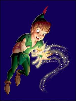 Dans Peter Pan, de quelle couleur est le pyjama de Michel ?