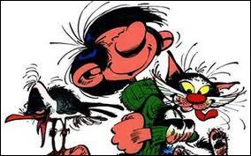 A ce propos, Gaston s'est fait renvoyer une fois par Monsieur Dupuis car ce dernier est tombé nez à nez avec... dans les bureaux de la rédaction.