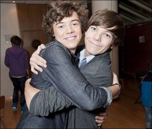 Comment sont surnommés Louis et Harry ?