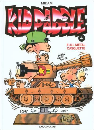 Quelle est la passion de Kid Paddle ?