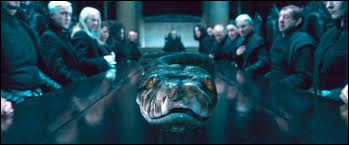 Le septième Horcruxe est détruit par :