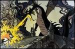 Avec quelle protection magique le prince résiste-t-il aux attaques du monstre ?