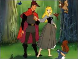 Comment s'appelle le jeune prince charmant qui tombe amoureux d'une jeune paysanne , sans savoir qu'il s'agit en fait de la princesse ?