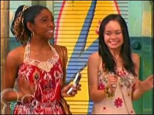 Dans la réalité, comment s'appelle la meilleure amie d'Hannah Montana ?