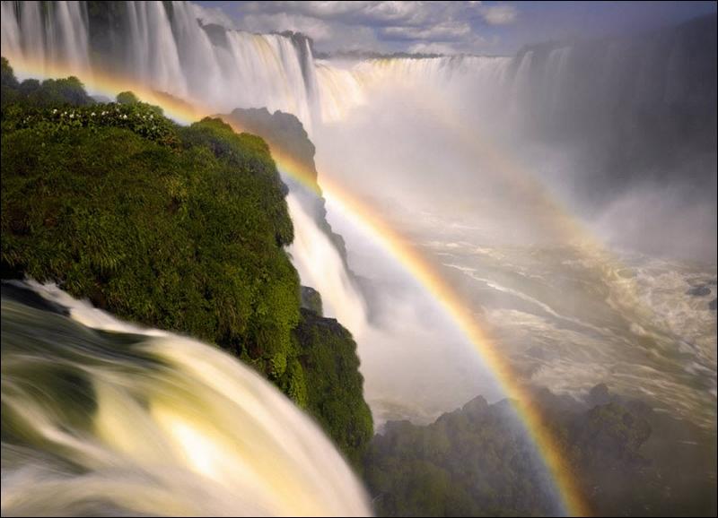 Aux frontières du Brésil, de l'Argentine et du Paraguay, je chasse dans ces lieux !