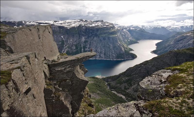 Dans ces fjords norvégiens, on me prête des intentions suicidaires !