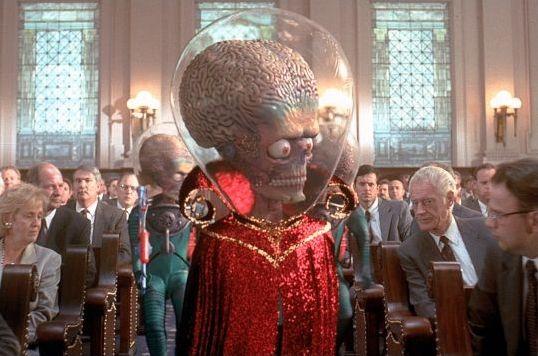Les extraterrestres font leur cinéma