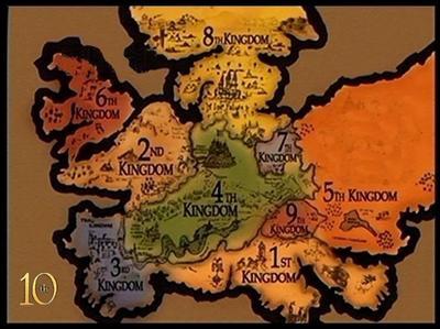 A l'aide de quel objet voyage-t-on entre les dix royaumes ?