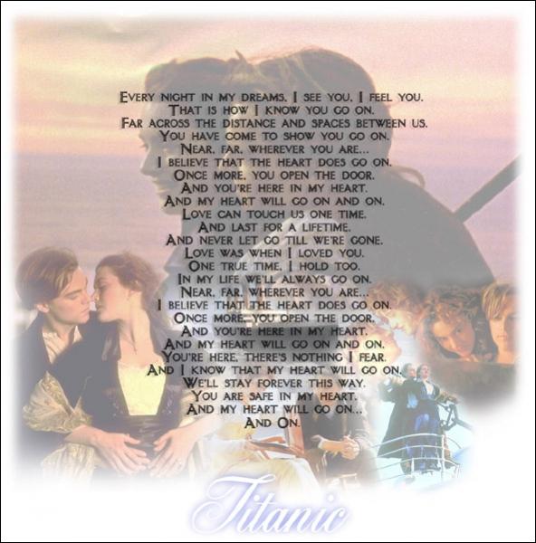 Comment s'appelle la chanson la plus connue du Titanic ?