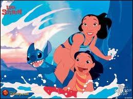 Encore dans Lilo et Stitch, Compléter la phrase :  ... ... ... ... ... . signifie la famille, la famille signifie que personne ne doit être abandonné ou laissé derrière !   (en hawaïen)