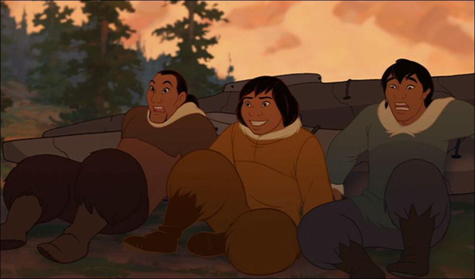 Dans  Frère des ours , comment s'appellent les deux frères de Kenaï ?