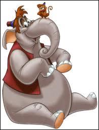 Qui est transformé en éléphant ?