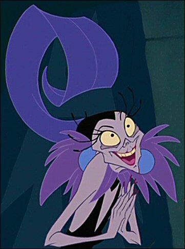Dans quel Disney retrouve-t-on Yzma ?