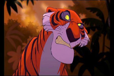Dans quel Disney retrouve-t-on Shere Khan ?