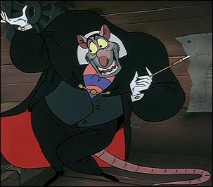 Dans quel Disney retrouve-t-on Ratigan ?