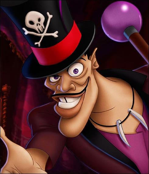 Dans quel Disney retrouve-t-on le Dr Facilier ?