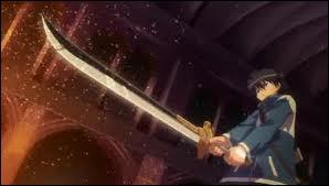 Comment se nomme l'épée de Saito ?