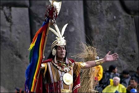 Histoire : En plus de la Terre-Mère et de la Lune, quel dieu est vénéré dans la religion inca ?