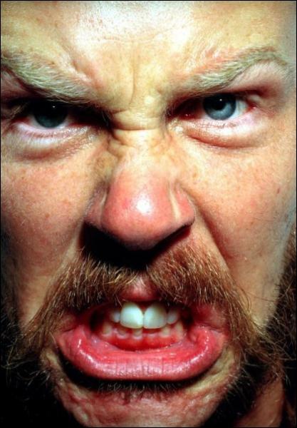 Avec quel membre de Metallica se battait-il souvent ?