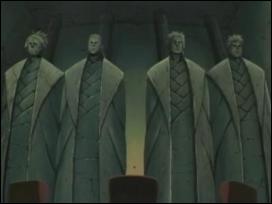 Où se tiennent les statues des Kazekage ?