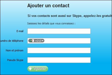 Comment fait-on pour ajouter des amis dans Skype ?
