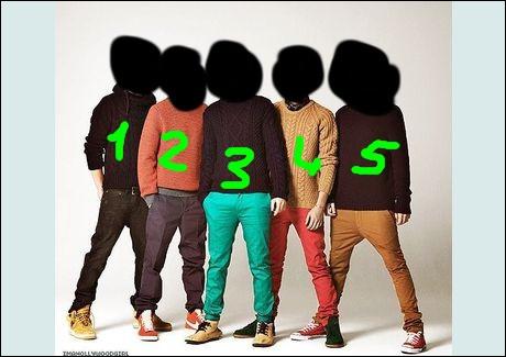 Qui est le numéro 4 ?