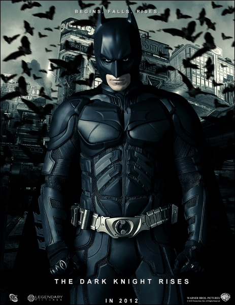 Quel acteur est le héros de  Batman Begins  et  The Dark Knight , les deux derniers films réalisés par Christopher Nolan concernant l'homme chauve-souris ?