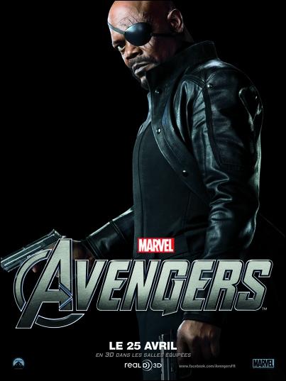Quel célèbre acteur incarne le colonel Nick Fury dans les films Marvel sortis au cinéma dans les années 2000, y compris dans  The Avengers  ?
