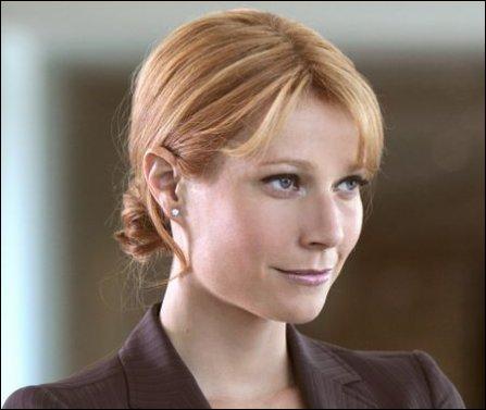 Quelle actrice incarne dans plusieurs films de la franchise Marvel Pepper Potts, la secrétaire de direction d'Iron-Man ?