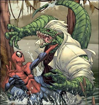 Rhys Ifans incarnera en juillet 2012 le personnage du Lézard dans le nouveau volet de  Spider-Man . Quel ennemi de l'homme-araignée n'est jamais apparu dans une adaptation au cinéma ?