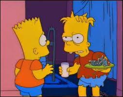 Qui est le garçon en face de Bart ?