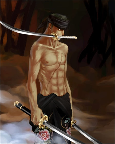 Comment s'appelle le sabre que Zorro tient toujours entre ses dents ?