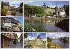 Quelle est la région de la ville de Pontivy ( 56 ) ?