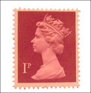 Les timbres courants au Royaume-Uni possèdent comme personne sur leur image :