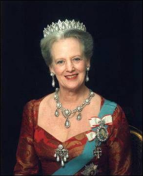 Quelle est la reine actuelle du Danemark ?