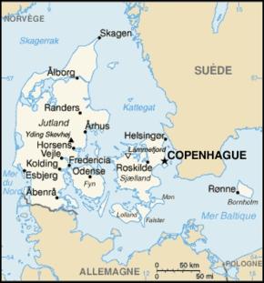 Quelle est la plus grande ville après Copenhague ?