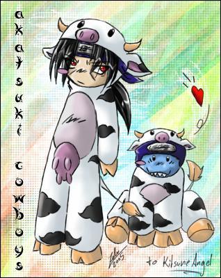 Naruto a-t-il déjà vu Itachi et Kisame en vaches ?