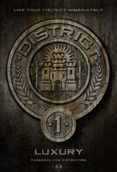 Hunger Games : les districts !
